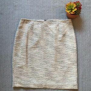 Calvin Klein Tweed-like Pencil Skirt